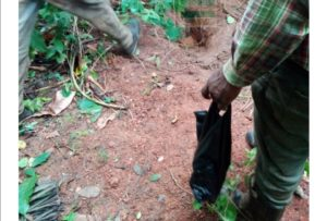 PHOTOS: Man who went missing found dead with hand in rat hole