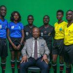 GFA receives referees' kits from sponsor from ZAZ Produkte