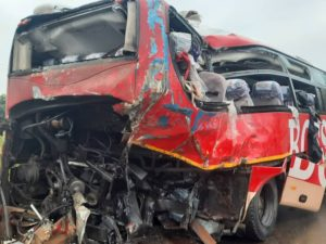 PHOTOS: 10 die, several others injured in acccident on Accra-Cape Coast highway
