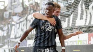 VIDEO: Watch Kelvin Yeboah's goal for Sturm Graz against LASK Linz