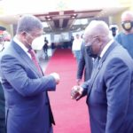 President pledges to elevate Ghana-Angola ties