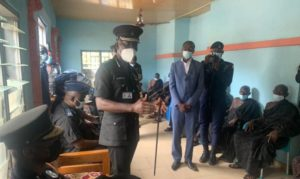 Dampare visits Abesim over gruesome killing of three by architect [Photos]