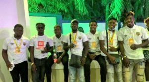 PHOTOS: Togbe Afede XIV host double winning Hearts of Oak squad