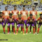 Hearts coach Samuel Boadu names starting XI to face CI Kamsar