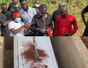 VIDEO: JHS pupil who 'committed suicide' buried with a cutlass