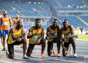 Tokyo 2020: Ghana's men 4x100m relay team grab final spot with National Record [VIDEO]
