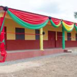 Oteng-Gyasi inaugurates classroom block
