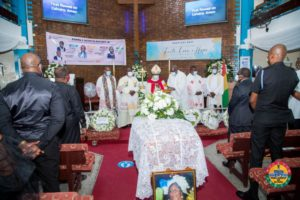 PHOTOS: Former Speaker of Parliament's wife laid to rest