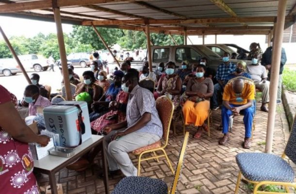 Poor internet connectivity frustrates COVID-19 vaccination in Sunyani