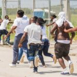 Angry scenes at Haiti airport as deported migrants arrive