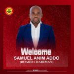 Samuel Anim Addo appointed board chairman of Okwahu United