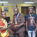 Team Ghana pays courtesy call on Prisons Directorate