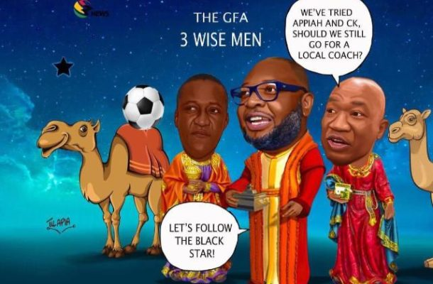 'The three wise men' tasked to find a new coach for Ghana