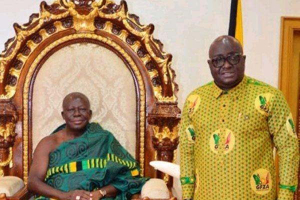 Michael Oquaye Pays Courtesy Call On Asantehene Otumfuor Osei Tutu II