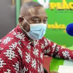 Be patient; support the MMDCEs to do their work - Yaw Buaben Asamoa to aggrieved people