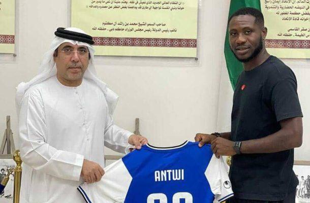 Dennis Agyare Antwi joins UAE side Al Taawon Club