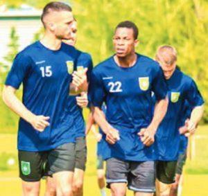 Kosovo based Augustine Ameworlorna wants Black Stars chance