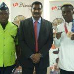 Binatone lauds Olympic boxer Samuel Takyi