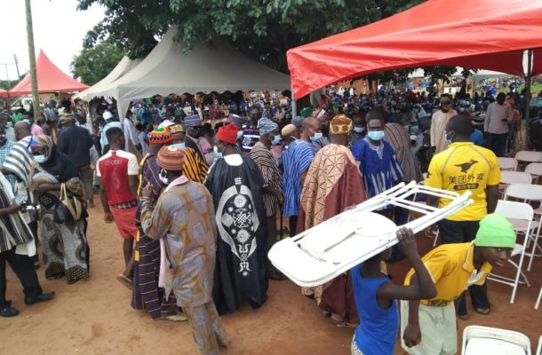 PHOTOS: Scores throng Walewale to mourn Bawumia's mother
