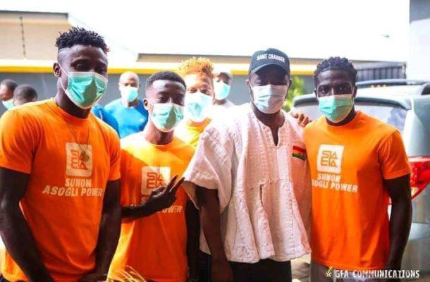 GFA Capo Kurt Okraku charges Hearts players to prove their mighty against Kamsar