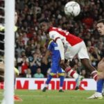 Eddie Nketiah scores for Arsenal in Carabao Cup win over AFC Wimbledon