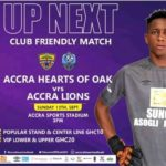 Hearts of Oak play Accra Lions in big return to Accra Sports Stadium on Sunday