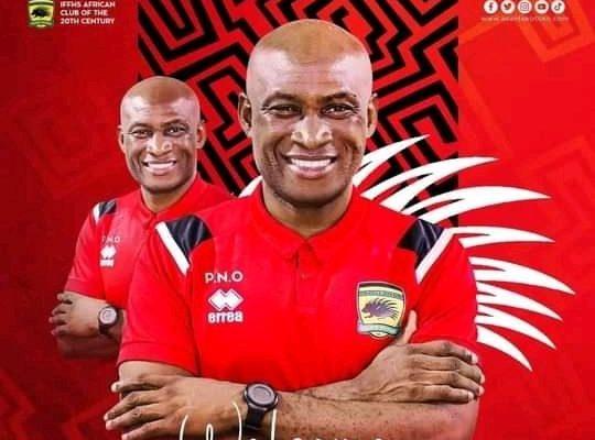 Kotoko announce Dr Prosper Narteh Ogum as new Head Coach