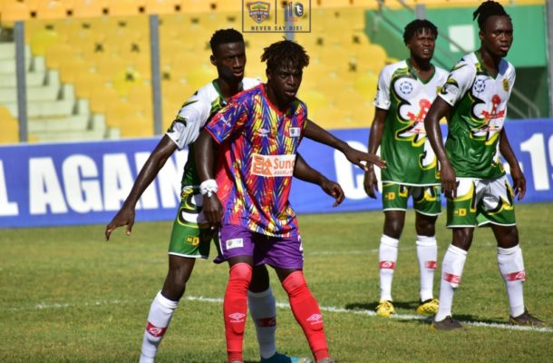 CAFCL: Hearts beat resilient CI Kamsar to advance to next stage