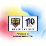 Hearts outdoor new club logo for 110th anniversary