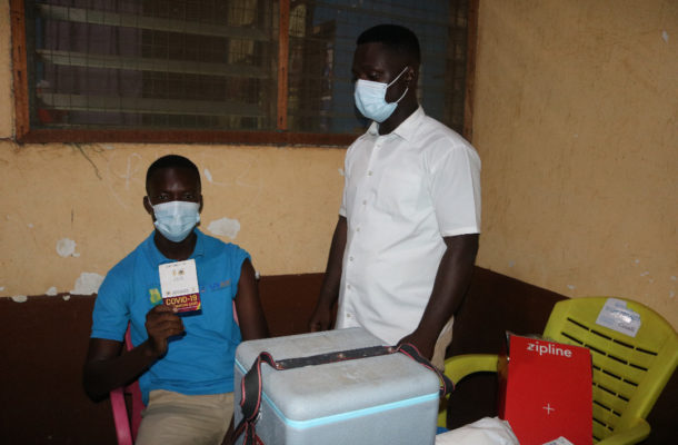Zipline expands drone delivery of UK-Donated AstraZeneca Covid-19 Vaccines To Health Facilities in Ghana