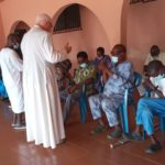 Lepers pray for Hajia Mariama Bawumia