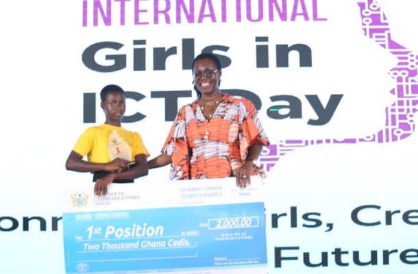 15-year-old wins 2021 edition of the Girls-in-ICT contest