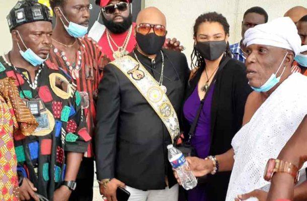 World's Masonic Grand master finally arrives in Ghana