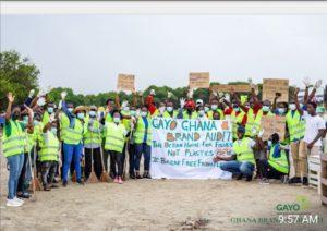 2021 World Cleanup Day: GAYO, GYEM, HRRG et al. rid Labadi Beach of filth