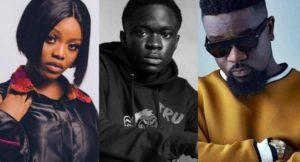 Gyakie, Yaw Tog, Sarkodie others nominated for 2021 AFRIMA awards