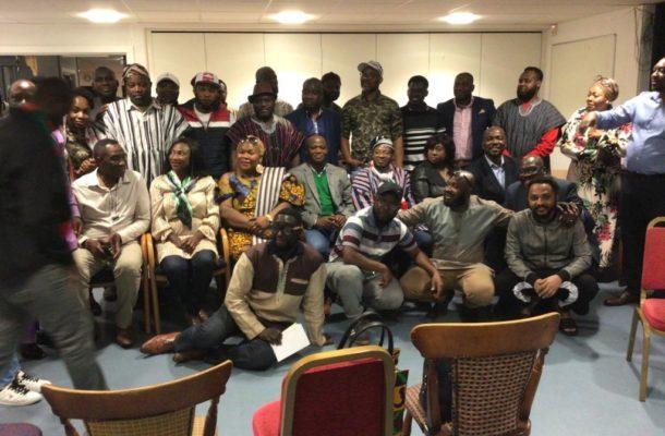 Alhaji Hudu Yahaya energises NDC Birmingham Branch