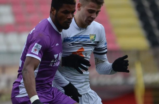 Ibrahim Tanko scores winning goal as Javor Matis defeat Graficar in Serbia Prva Liga