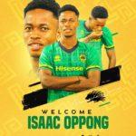 OFFICIAL: 18 year old Isaac Oppong joins Asante Kotoko from Bectero Sasana FC