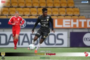 Ghanaian youngster Kingsley Asante Ofori scores for SJK Akatemia in Finland
