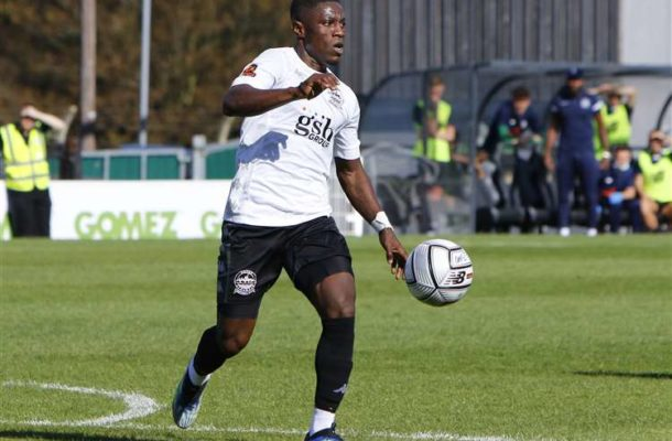 Kobby Owusu Arthur scores for Dover Athletic in draw against Weyworth