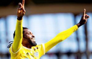 Falkenberg FF striker Kwame Kizito slapped with a ban in Sweden