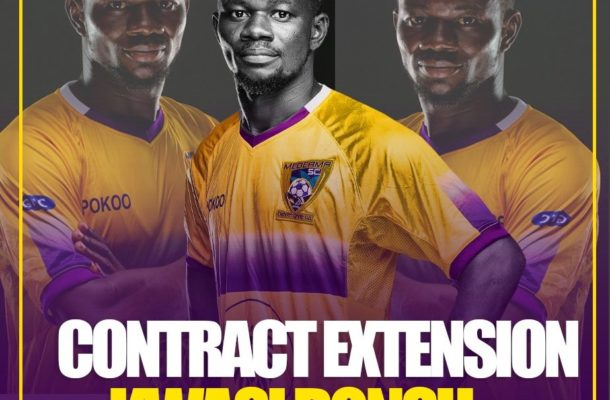 Kwasi Donsu extends Medeama contract by two more years