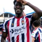 Kwasi Okyere Wriedt scores, provides assist for Willem II in Groningen win