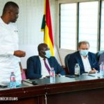 GFA officially introduces Milovan Rajevac to Sports Minister