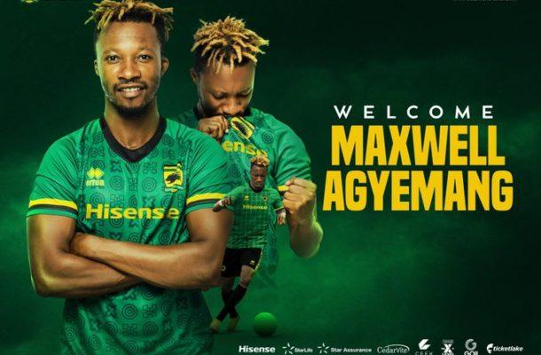 OFFICIAL: Maxwell Agyemang joins Kotoko on a three year deal