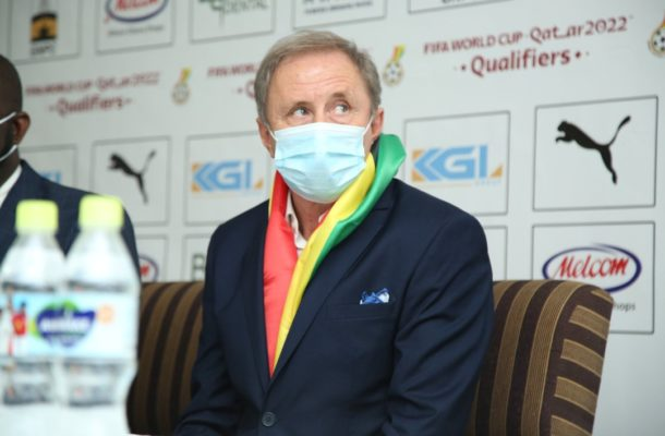 Milovan Rajevac is only coming to take our money and go - Coach J.E Sarpong