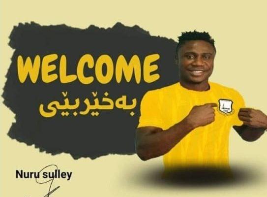 Hearts of Oak's Nuru Sulley signs for Iraqi side Erbil SC