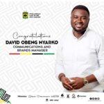 Kotoko appoint David Obeng Nyarko as new Communications and Brands Manager