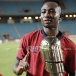 Ghanaian youngster Percious Boah wins first trophy with Esperance
