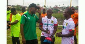 New Kotoko coach Prosper Nartey Ogum begins reign